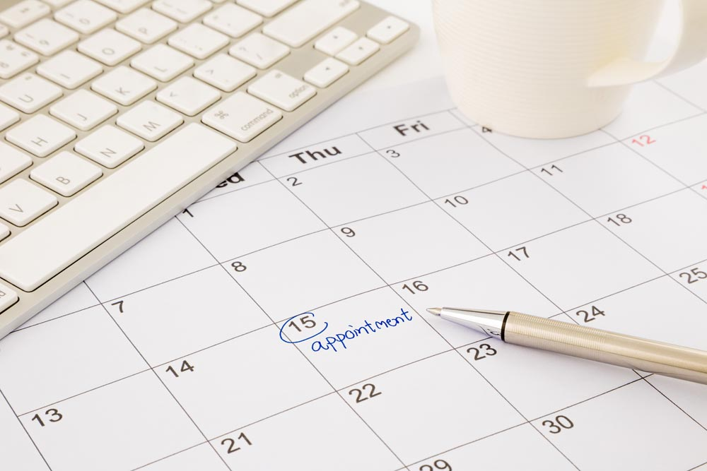 Online Appointment Scheduling