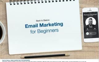 Email Marketing for Beginners Cover Slide